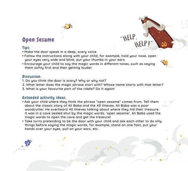 Parent Guide for Open Sesame